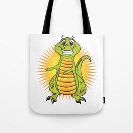 Floss Dance Move T-Rex Tote Bag