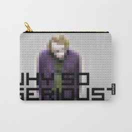 Joker - Why so serious - Toy Building Bricks Carry-All Pouch