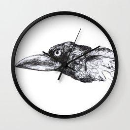 Grim crow Wall Clock