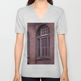 Window Arch in the Marigny Unisex V-Neck
