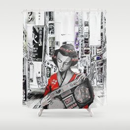 BENTO BOX Shower Curtain