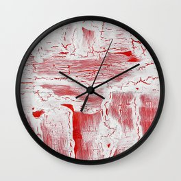Abstract Artwork Colourful #9 Wall Clock