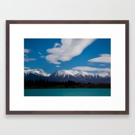Glacial Waters Framed Art Print