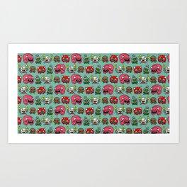 MiniDoom Art Print