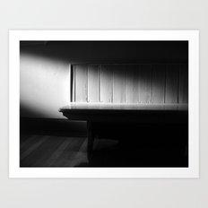 The Waiting Room - VACANCY zine Art Print