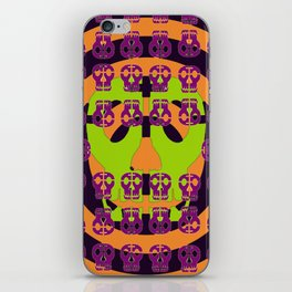 Skulls in Your Face iPhone Skin