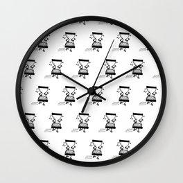 Time Runs Wall Clock