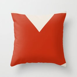 Mid Century Modern Vintage 17 Throw Pillow