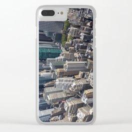 Manhattan Buildings Clear iPhone Case