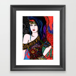 Slightly Psychedelia II Framed Art Print