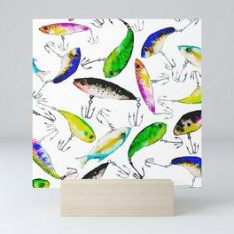 Fishing is Fly Mini Art Print