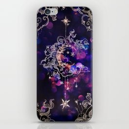 Moon Over Neverland iPhone Skin