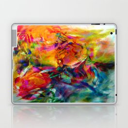 abstract about wine, flowers, party Laptop & iPad Skin