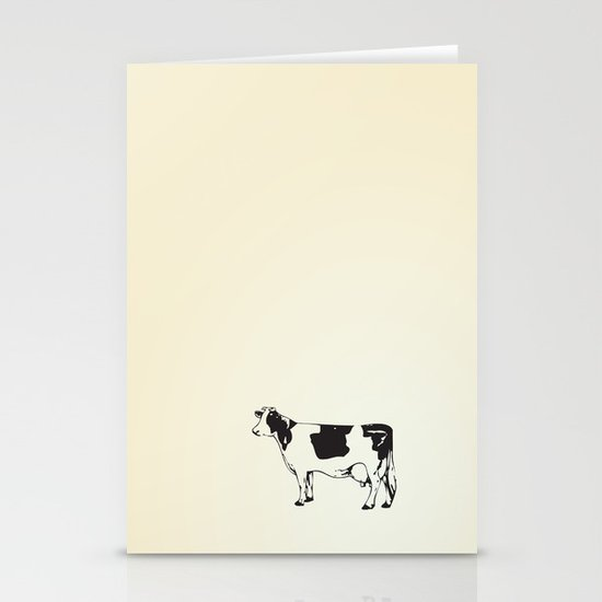 Poor Cow. Stationery Cards