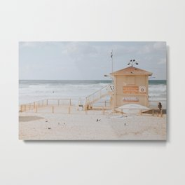 Lifeguard On Duty III Metal Print