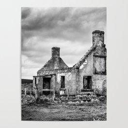 Derelict Croft Poster