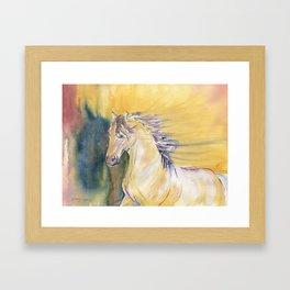 Horse Spirit Framed Art Print