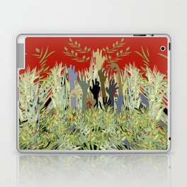 In A Zombie Garden Laptop & iPad Skin