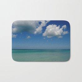 Bradenton Beach - Florida Seascape Bath Mat