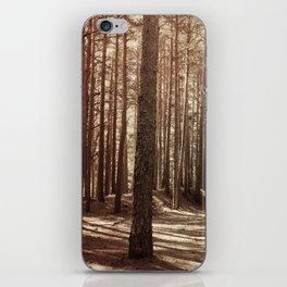 it's autumn iPhone Skin