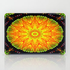 Citrus Slice Kaleidoscope iPad Case