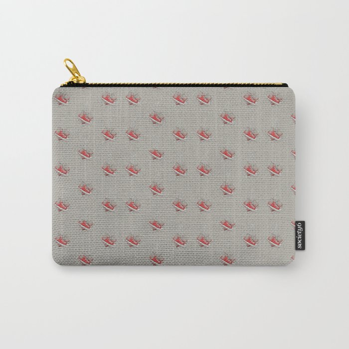 red sneakers Carry-All Pouch