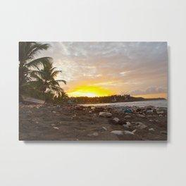 Jacmel Sunrise Metal Print
