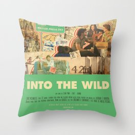 Into The Wild - Sean Penn Throw Pillow
