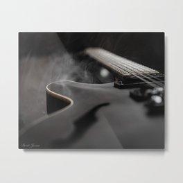 SEMI HOLLOW Metal Print