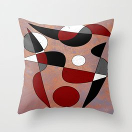 Abstract #154 Throw Pillow