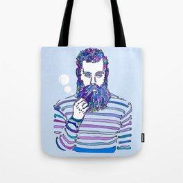 Sea Wolf Ghost (Blue Version) Tote Bag