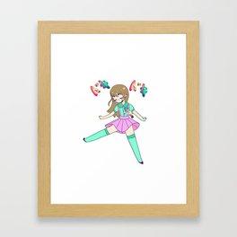 Doki Doki Framed Art Print