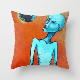 Planetary Scope Throw Pillow