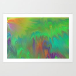 Tubes 04 Art Print