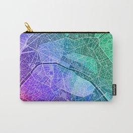Paris Map (Colour Gradient) Carry-All Pouch