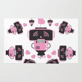 Robot Love Rug