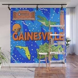 Gainesville Wall Mural