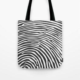 Finger print Tote Bag
