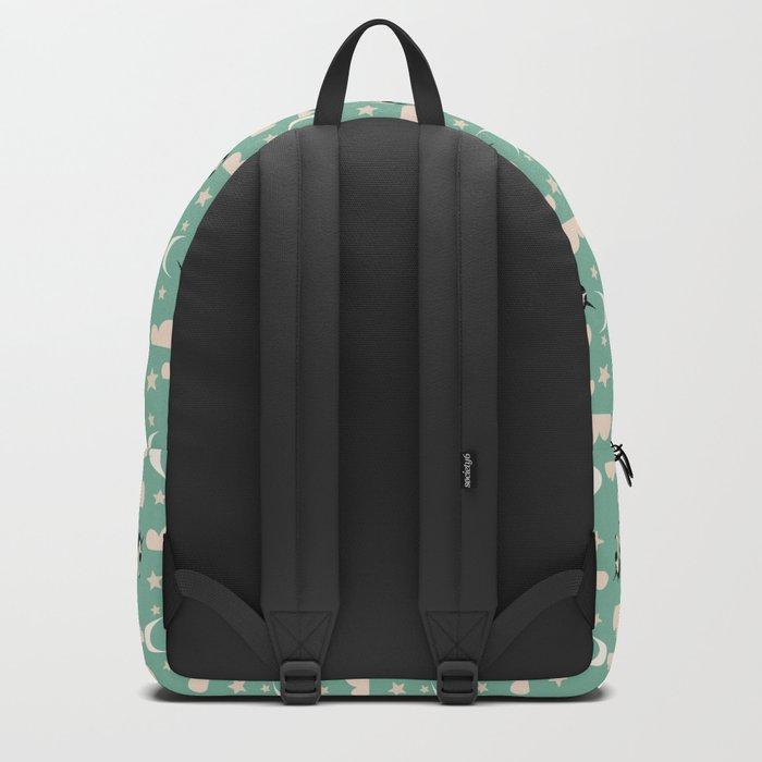 Unicorn green Backpack