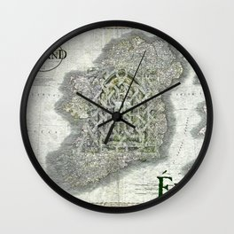 Window into Eire Wall Clock