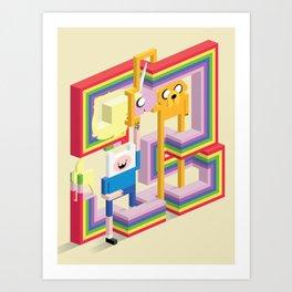 Mathematical! Art Print