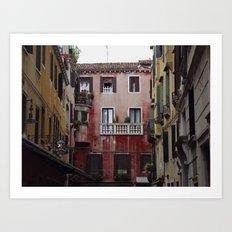Venice Architecture #2 Art Print
