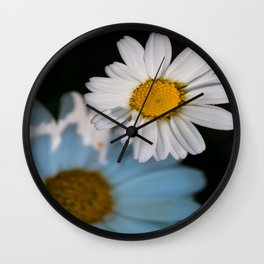 Close up daisy Wall Clock
