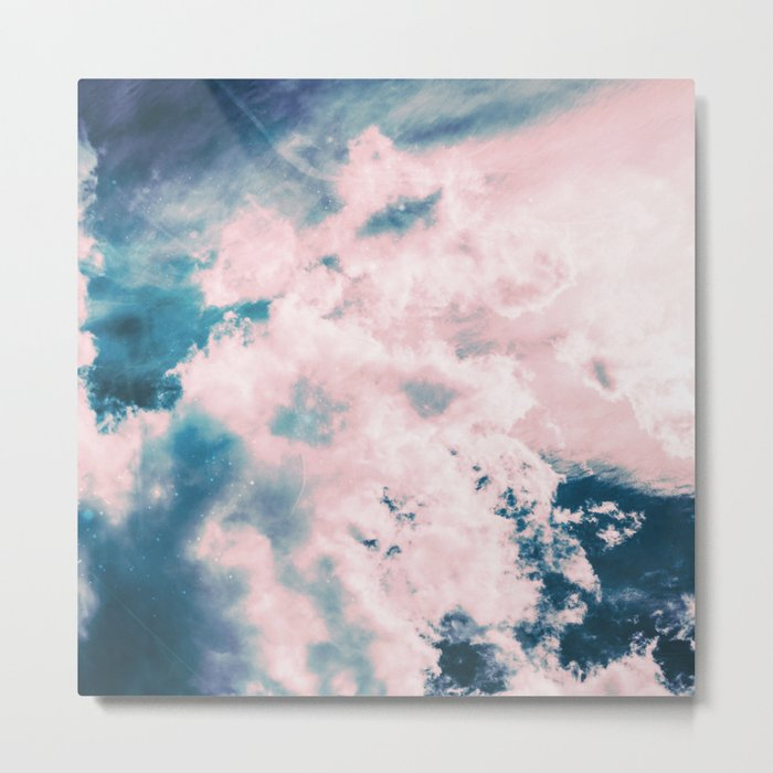 Aerial Sea Metal Print