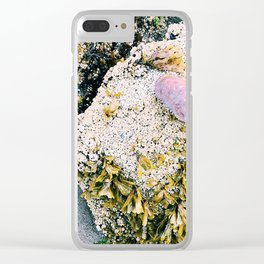 Sea Side Clear iPhone Case