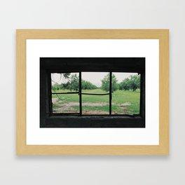 DESOLATE PARADISE Framed Art Print