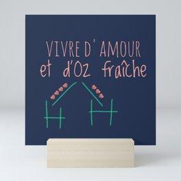 Vivre d'amour et d'Oz fraîche Mini Art Print
