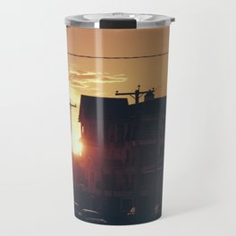 Seaside Sunset  Travel Mug