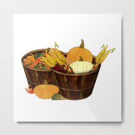 The Splendor of Autumn Metal Print