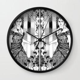 anna & anna karenina Wall Clock